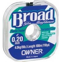 Broad 0,12мм 100m леска Owner