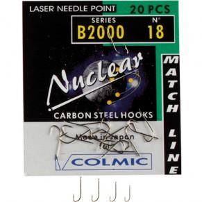 NUCLEAR B.2000 N. 20-20 AMI X BS крючки Colmic - Фото