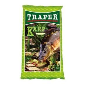 Простая 1кг. карп прикормка Traper - Фото