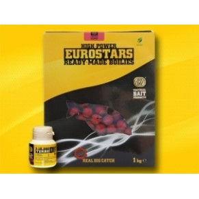 Eurostar Boilie 1kg+50ml Bait Dip-Strawberry Jam бойлы SBS - Фото