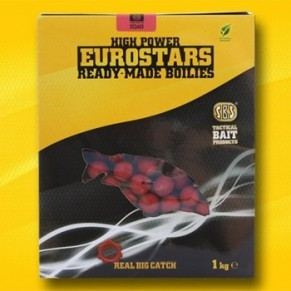 Eurostar Fish Meal Boilie 16mm/1kg-Black Squid бойлы SBS - Фото
