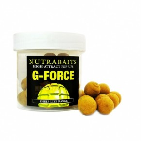 G-Force 15мм Pop-Up плавающие бойлы Nutrabaits - Фото