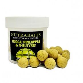 Trigga Pineapple +N-butyric 12мм Pop-Up плавающие бойлы Nutrabaits - Фото