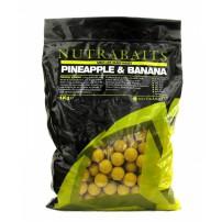Pineapple & Banana 10мм 400г бойлы Nutrabaits