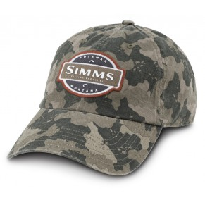 6-Panel SB Cap Pro Guide Camo кепка Simms - Фото