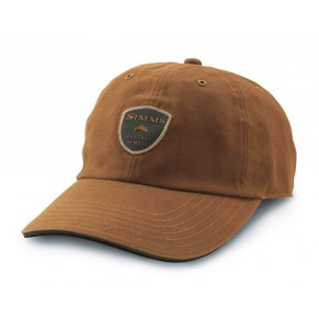 Waxed Canvas Hat Brown кепка Simms - Фото