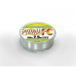 SWS Small Game FC 150м 0.165мм флюороkарбон Sunline - Фото