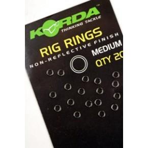 Rig Rings Medium кольца нерж. для оснастки крючка Korda - Фото