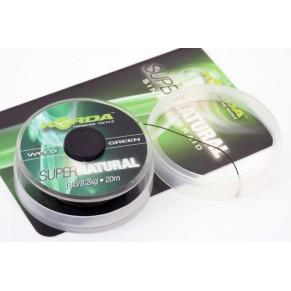 Super Natural 25lb Weed Green поводковый материал Korda - Фото