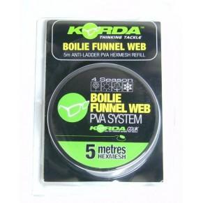 PVA Boilie Funnel hexmesh 22мм ПВА тунель на шпуле Korda - Фото