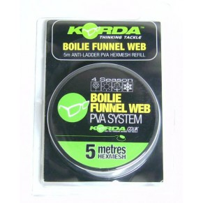 Boilie Funnel Web 4 season 5m Micromesh Refill ПВА Korda - Фото