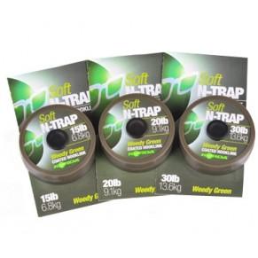 N-Trap 20lb Soft Hook link Silt поводковый материал Korda - Фото