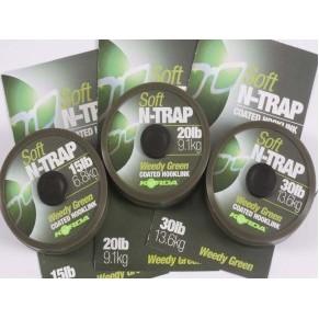 N-Trap 30lb Soft Hook link Silt поводковый материал Korda - Фото