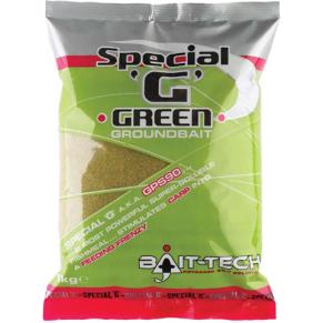 Special G Green Groundbait 1kg прикормка Bait-Tech - Фото