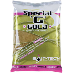 Special G Gold Groundbait 1kg прикормка Bait-Tech - Фото