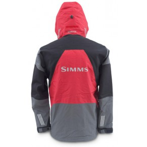 Deepwater Parka Red/Grey/Black L куртка Simms - Фото