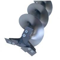 Ледобур ТЛР-130Д-3н (титан, три ножа, двуручный) Tonar