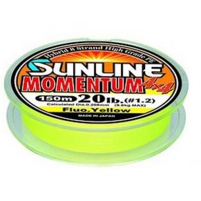 Momentum 4x4 150м 0,208mm 20LB/8.8кг шнур Sunline - Фото