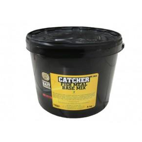 Catcher Fish Meal Boilie Mix 5kg-Cranberry&Black Caviar смесь - Фото