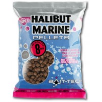 Halibut Marine Pre-Drilled Pellets 20.0mm 900g пеллетс Bait-Tech