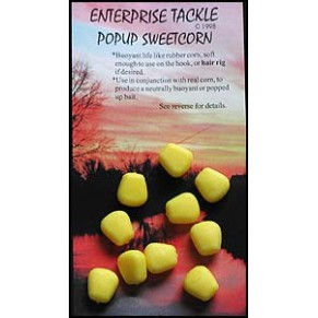 Pop Up Sweetcorn Yellow Tutti Fruity Flavour насадка Enterprise Tackle - Фото