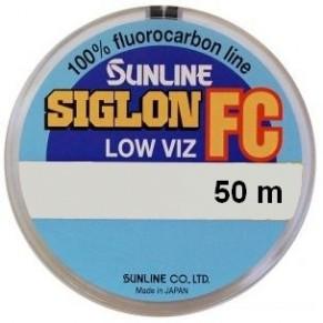 SIG-FC 50м 0.445мм 12кг поводковый флюорокарбон Sunline - Фото