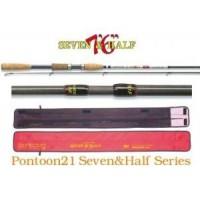 Seven & Half 763MF 3.5-12.5gr 4-10lb Mod.Fast удилище Pontoon 21