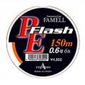 PE Flash 10 lb 150m orange шнур Yamatoyo