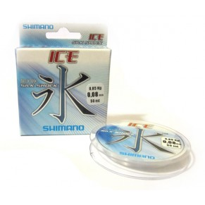 Silk Shock Ice 50 m. 0.06 mm, жилка SHIMANO, - Фото