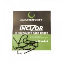 Incizors Barbed #1 10шт крючок Gardner
