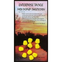 Midi Pop Up Sweetcorn Yellow Unflavoured насадка Enterprise Tackle