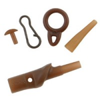 Running Safety Clip x 5 Brown Fox