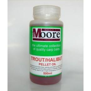 Trout/Halibut Pellet Oil 0,5 Litres добавка CC Moore - Фото
