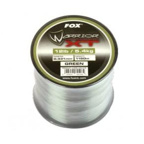 Warrior XT Carp Line Green 10 lb 0.309mm леска Fox - Фото
