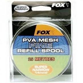 PVA Mesh Super Narrow 25m Refill Spool Fine Mesh (ПВА сетка запасная) - Фото
