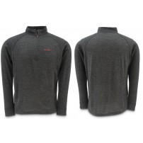 Downunder Merino Mid Zip Top Charcoal L блуза Simms
