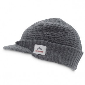 Visor Beanie Grey кепка Simms - Фото