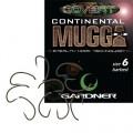 Covert Continental Mugga size 6 10шт крючок Gardner