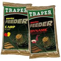 Feeder Karp прикормка 1кг Traper