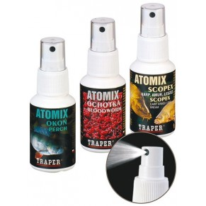 Atomix 50 мл мотыль спрей Traper - Фото