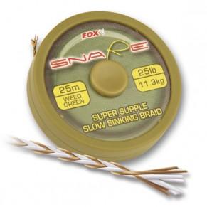 Snare 25lb 11,3kg 25m поводковый материал Fox - Фото