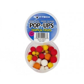 Pop-Ups Tropical Fruits mixed 110g бойлы Bait-Tech - Фото