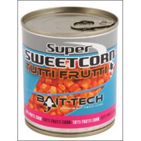 Super Sweetcorn Tutti Frutti 300g кукуруза Bait-Tech - Фото