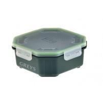 Klip-Lok box 2.4pt Perf Lid коробка Greys