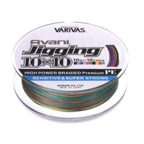 Avani Jigging 10*10 600m #5,0 60 LB шнур Varivas - Фото