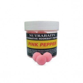 Alternative Hookbait Pink Pepper 16mm плавающие бойлы Nutrabaits - Фото