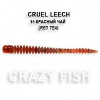 Cruel Leech силикон 8-5.5-15-6 кальмар Crazy Fish