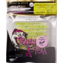Cruel Leech силикон 8-5.5-22-6 кальмар Crazy Fish