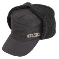 302781-XL Inari Black шапка-ушанка на мембране с козырьком Norfin