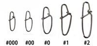 Easy Lock Snap #0 (10шт) застежки Kahara